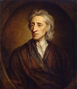 Portrait of John Locke by Godfrey Kneller, 1697